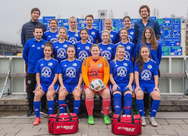Sponsoring der Damen des FC Luzern